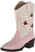 Roper Light Up Butterfly Western Boot (Toddler/Little Kid)