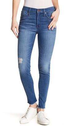 Madewell Raw Hem Hi Rise Skinny Jeans