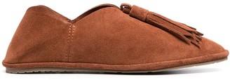 Pedro Garcia Tassel-Detail Slip-On Loafers