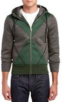 Moncler Wool Zip Sweatshirt.