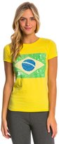 Speedo Women's Rio Flag Tee Shirt 8146982
