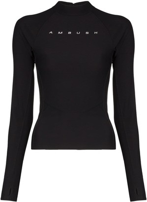 Ambush scuba long-sleeve shirt