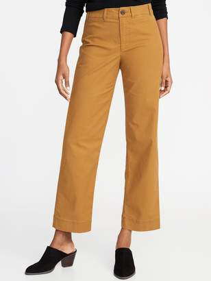 Old Navy Mid-Rise Slim Wide-Leg Chinos for Women