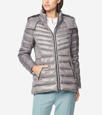Cole Haan Glossy Down Quilted Jacket
