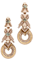 Elizabeth Cole XO Earrings