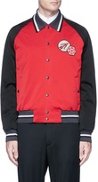 Lanvin Assorted appliqué satin souvenir jacket