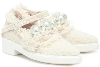 Simone Rocha Embellished loafers