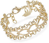 Brahmin Three Row Chain Bracelet Providence