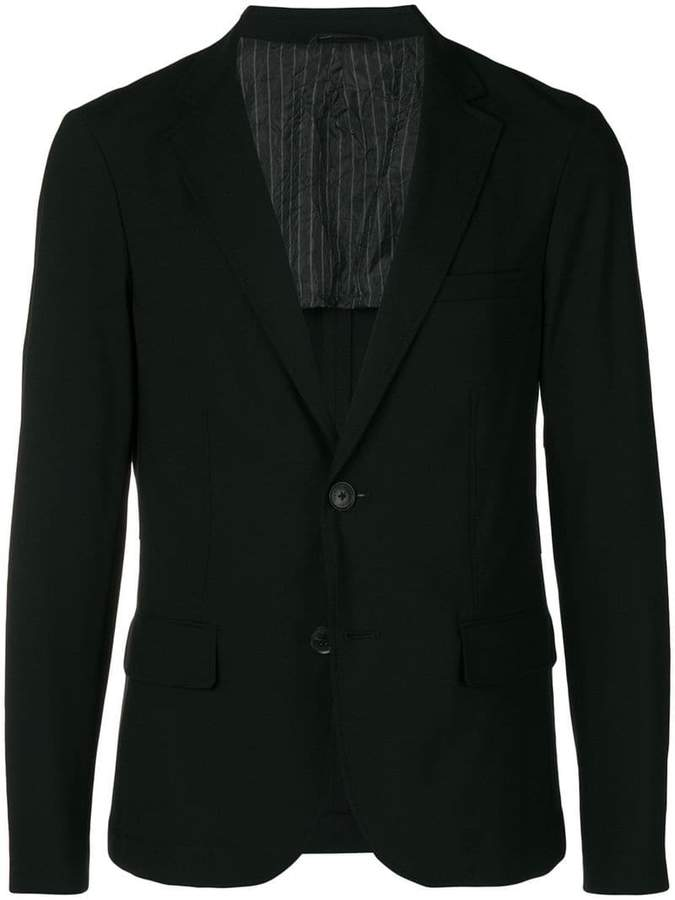 Emporio Armani slim fit blazer jacket