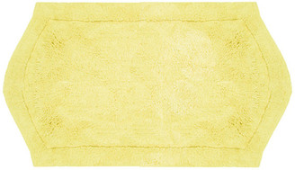 "Home Weavers Inc. Waterford Bath Rug, Yellow, 24""x40"""
