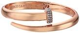 Vince Camuto Flat Nail Head Hinged Cuff Bracelet