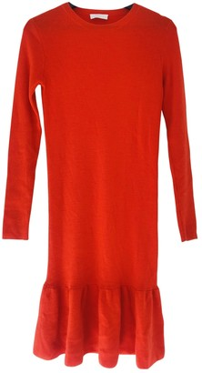 2nd Day Orange Wool Dress for Women