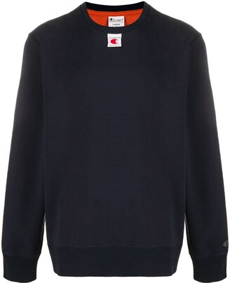 Champion Sleeve Stripe Sweatshirt