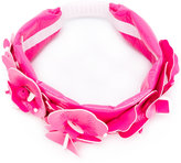Miu Miu floral embellished headband