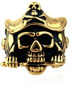 Bishilin Jewelry Men's Rings Stainless Steel Skull with Claw Rings Size 13