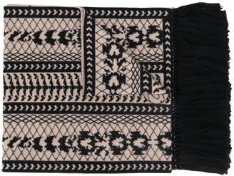 Temperley London Knit Detail Scarf