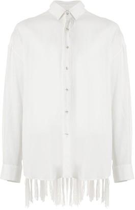 Yoshio Kubo Long Sleeve Aran Knit Shirt
