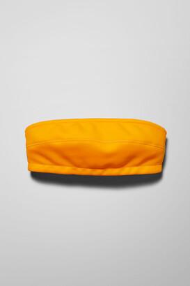 Weekday Aloha Bandeau Swim Top - Yellow