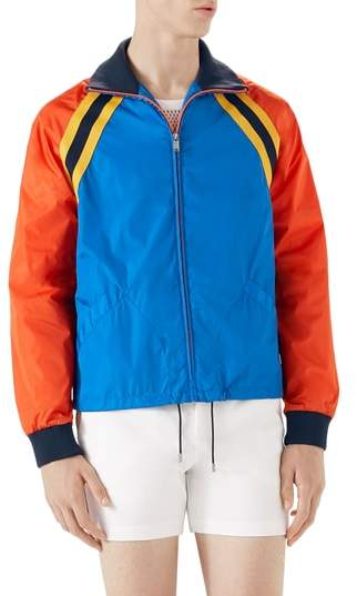 Gucci Tiger Embroidered Track Jacket