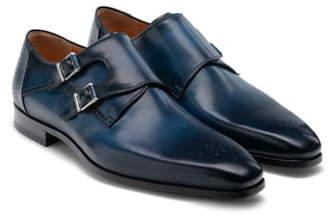 Magnanni Derek Double Monk Strap Shoe