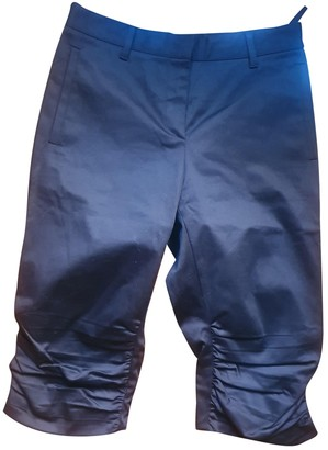 Miu Miu Black Cotton Trousers