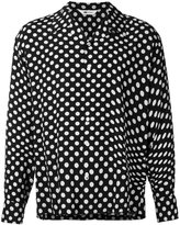 soe polka-dot shirt - men - Rayon - 2