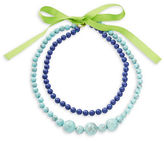 Trina Turk Two Row Beaded Necklace