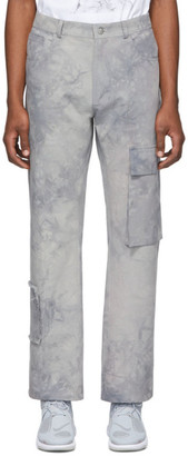Misbhv Grey Tie-Dye The Washed Out Cargo Pants