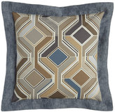 "Sweet Dreams Maze Geometric Pillow, 18""Sq."
