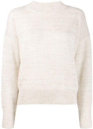 Etoile Isabel Marant Crew Neck Long-Sleeved Jumper