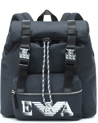 Emporio Armani Kids Logo backpack