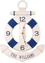 Personalized Anchor Buoy Outdoor Clock