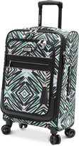 "Steve Madden Tribal 21"" Expandable Carry-On Spinner Suitcase"
