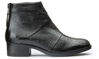 Mjus Marilu Leather Boots with Detail Nails