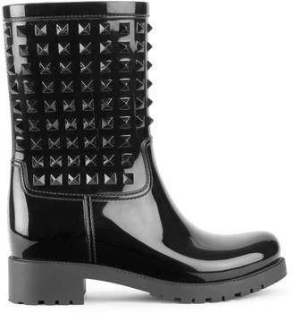 Valentino Rockstud Rain Boots