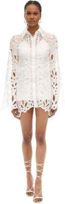 Alice McCall Broderie Anglaise Mini Dress