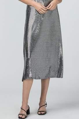 Entro Sequin Sparkle Midi Skirt