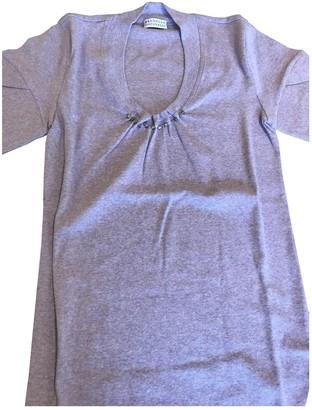 Brunello Cucinelli Purple Cotton Top for Women