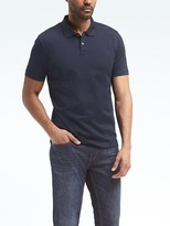 Banana Republic Pique Mercerized Polo