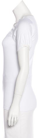 Rivamonti Embellished Short Sleeve Top