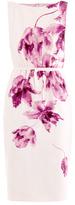 Giambattista Valli Orchid-print shift dress