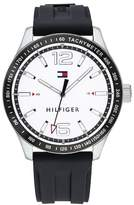 Tommy Hilfiger Men's Essentials Silicone Bracelet Watch, 44mm