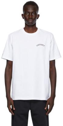 Carhartt Work In Progress White University Script T-Shirt