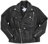 Molo Halvor Leather Biker Jacket