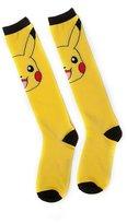 Pokemon Official Womens Pikachu Knee High Novelty Socks One Size | Yellow/Black