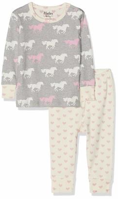 Hatley Baby Girls' Mini Long Sleeve Pyjama Sets