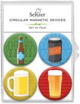 Seltzer Goods Beer Mug Magnets