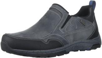 Dunham Men's Trukka Slip On Rain Shoe Grey 8 4E US