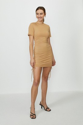 Coast Ruched Side Tshirt Dress