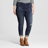 Mossimo Women's Plus Size Mid Rise Jeggings Crop